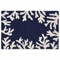 Liora Manne Capri 20-Inch x 30-Inch Indoor/Outdoor Mat in Navy