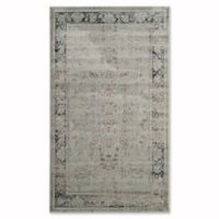 Safavieh Vintage Olivia 3-Foot 3-Inch x 5-Foot 7-Inch Accent Rug in Light Blue