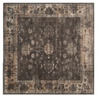 Safavieh Vintage Olivia 6-Foot Square Area Rug in Light Grey