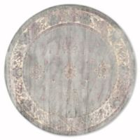 Safavieh Vintage Olivia 6-Foot Round Area Rug in Grey