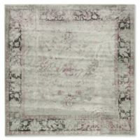 Safavieh Vintage Olivia 6-Foot Square Area Rug in Spruce/Ivory