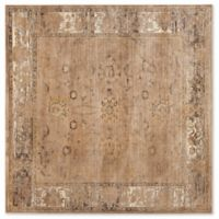 Safavieh Vintage Olivia 6-Foot Square Area Rug in Taupe
