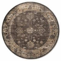 Safavieh Vintage Olivia 8-Foot Round Area Rug in Light Grey