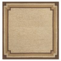Liora Manne Ravella 8-Foot Square Indoor/Outdoor Area Rug in Natural