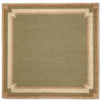 Liora Manne Ravella 8-Foot Square Indoor/Outdoor Area Rug in Green