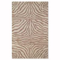 Liora Manne Zebra 5-Foot x 7-Foot 6-Inch Indoor/Outdoor Area Rug in Brown
