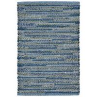 Liora Manne Sahara 2-Foot x 3-Foot Indoor/Outdoor Accent Rug in Blue