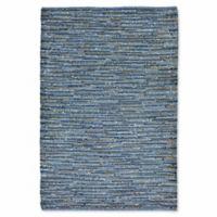 Liora Manne Sahara 5-Foot x 7-Foot 5-Inch Indoor/Outdoor Area Rug in Blue