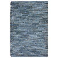 Liora Manne Sahara 7-Foot 5-Inch x 12-Foot Indoor/Outdoor Area Rug in Blue