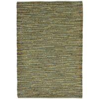 Liora Manne Sahara 7-Foot 5-Inch x 12-Foot Indoor/Outdoor Area Rug in Green