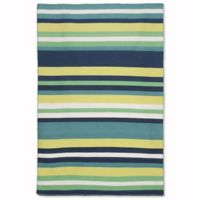 Liora Manne Sorrento 3-Foot 6-Inch x 5-Foot 6-Inch Indoor/Outdoor Accent Rug in Tribeca Green