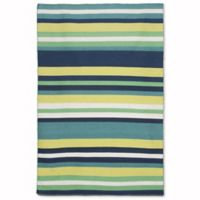 Liora Manne Sorrento 7-Foot 6-Inch x 9-Foot 6-Inch Indoor/Outdoor Area Rug in Tribeca Green