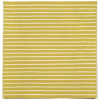 Liora Manne Sorrento Pinstripe 8-Foot x 8-Foot Square Indoor/Outdoor Area Rug in Yellow