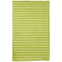 Liora Manne Sorrento Pinstripe 8-Foot 3-Inch x 11-Foot 6-Inch Indoor/Outdoor Area Rug in Lime