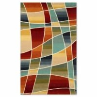 Liora Manne Amalfi Collage 5-Foot x 7-Foot 6-Inch Area Rug