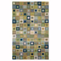 Liora Manne Amalfi Ocean Square in Square 5-Foot x 7-Foot 6-Inch Area Rug