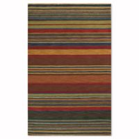 Liora Manne Inca Stripes 9-Foot x 12-Foot Area Rug in Multicolor
