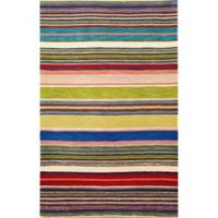 Liora Manne Inca Stripes 9-Foot x 12-Foot Area Rug in Red Multi