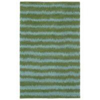 Liora Manne Inca 8-Foot x 10-Foot Area Rug in Green/Aqua