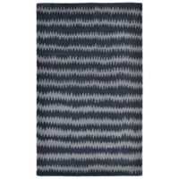 Liora Manne Inca 9-Foot x 12-Foot Area Rug in Denim