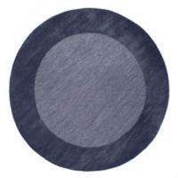 Liora Manne Madrid 8-Foot Round Area Rug in Blue