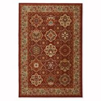 Mohawk Home Symphony Copperhill 5-Foot 3-Inch x 7-Foot 10-Inch Area Rug in Madder Brown