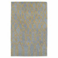 Kaleen Casablanca Impressions 9-Foot 6-Inch x 13-Foot 6-Inch Area Rug in Light Blue