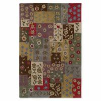 Kaleen Khazana Patchwork 9-Foot 6-Inch x 13-Foot Area Rug in Ivory