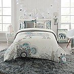 Anthology™ Kiran Reversible King Comforter Set in White/Grey