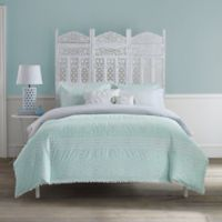 Anthology™ Moroccan Party Queen 7-Piece Comforter Set in Mint Green/White
