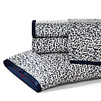 ED Ellen DeGeneres Levitt Queen Sheet Set in Navy