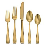 Oneida® Moda Lux 45-Piece Flatware Set in Gold