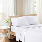 Madison Park Pure Soft Wash Queen Sheet Set in White