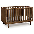Ubabub Nifty Timber 3-in-1 Convertible Crib in Walnut