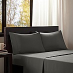 Intelligent Design Microfiber Queen Sheet Set in Charcoal