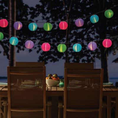 Solar Lantern String Lights. Buy Decorative String Lighting from Bed Bath   Beyond