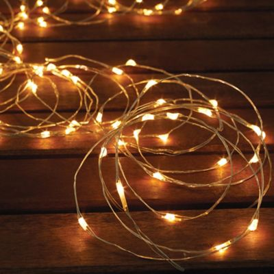 Exceptional Solar Powered 150 Bulb Micro LED String Lights