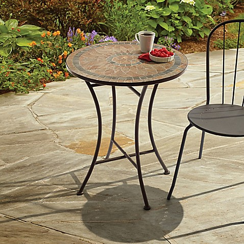 Outdoor Mosaic Stone Bistro Table  Bed Bath & Beyond. Attached Patio Roof Plans. Pool And Patio Furniture Memphis Tn. Patio Homes For Sale Lafayette La. Landscaping Ideas For Concrete Patio. Patio Design Ideas For Small Gardens. Patio Awnings Outside Room. Outdoor Patio Furniture Manufacturers. Interlocking Stone Patio Ideas