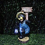 Solar Welcome Bear with Lantern