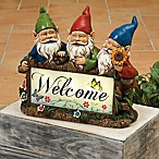 "Solar ""Welcome"" Gnomes"
