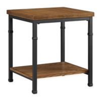 Austin End Table in Black/Ash