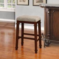Kennedy Barstool in Walnut/Tweed