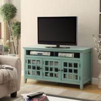 Largo Media Cabinet in Turquoise