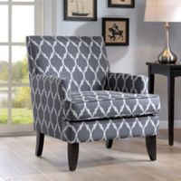 Madison Park Colton Track Arm Club Chair in Grey