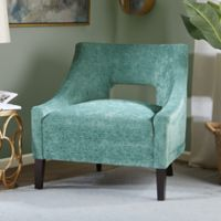 Madison Park Whitney Accent Chair in Teal