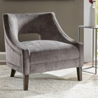 Madison Park Whitney Accent Chair in Mushroom