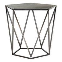 Safavieh Couture Alba Steel Geometric Side Table