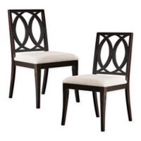 Madison Park Cooper Dining Chair in Ebony (Set of 2)