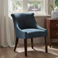 Madison Park Caitlyn Accent Chair in Blue
