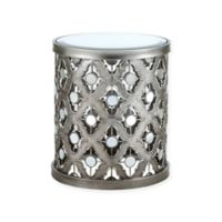 Madison Park Arian Accent Table in Silver
